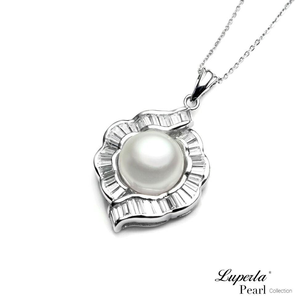 大東山珠寶  永恆典範  天然珍珠925銀項鍊 0