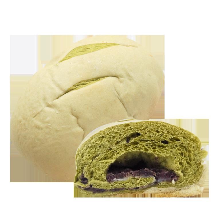 [蕃薯藤]紅豆抹茶麻糬麵包(L-C)
