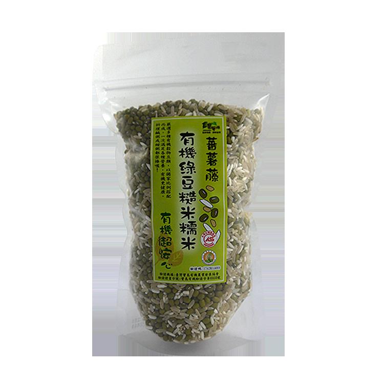 [蕃薯藤有機]有機紅豆糙米糯米