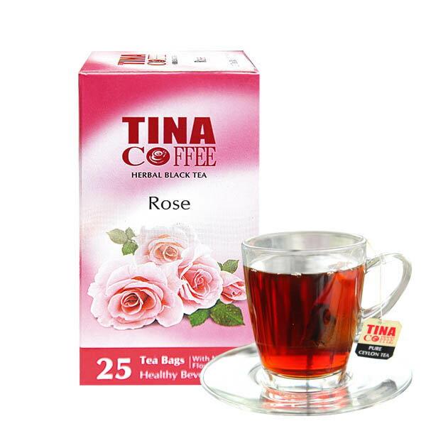 [蕃薯藤]TINA玫瑰花瓣紅茶 / 單包25入 - 限時優惠好康折扣