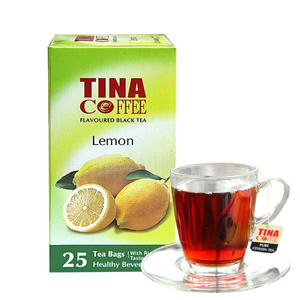[蕃薯藤]TINA清香檸檬紅茶 / 單包25入『通過SGS檢驗-308種農藥無殘留』保證讓您喝的安心 - 限時優惠好康折扣
