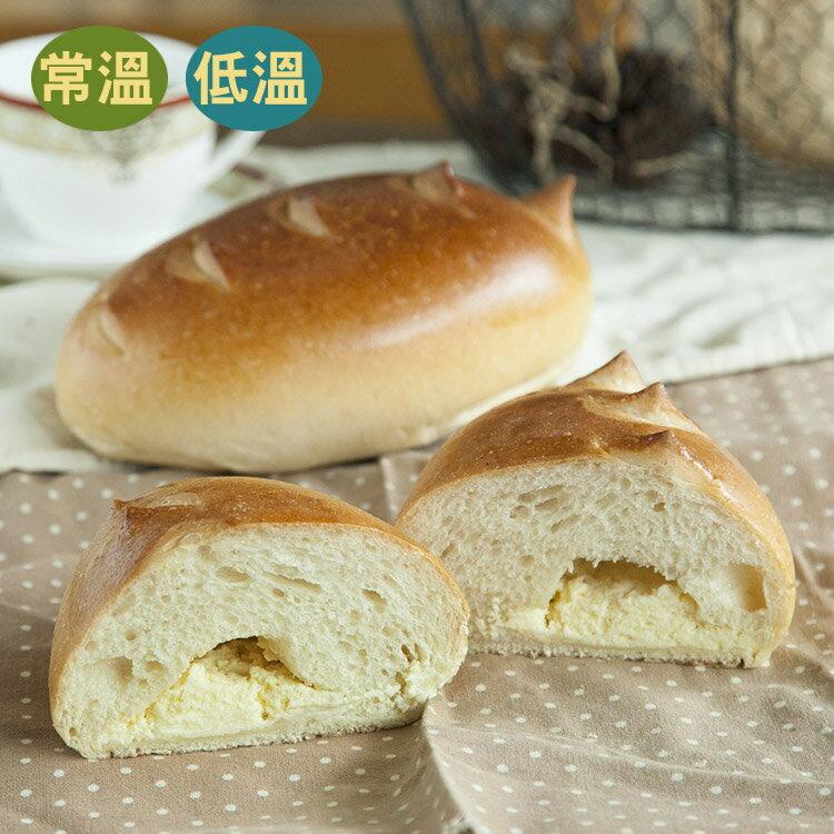 [蕃薯藤]輕乳酪麵包(T-W/C)輕乳酪麵包吃起來鬆軟,並包有乳酪內餡,且乳酪奶味很濃郁,口感又很滑順,喜愛乳酪的您一定不能錯過這款麵包喔 。