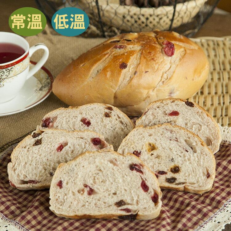 [蕃薯藤]紅酒麵包(T-W/C)將蔓越莓與葡萄乾和在Q軟的麵包體中,每一口都有莓果酸甜香味!非常推薦喔