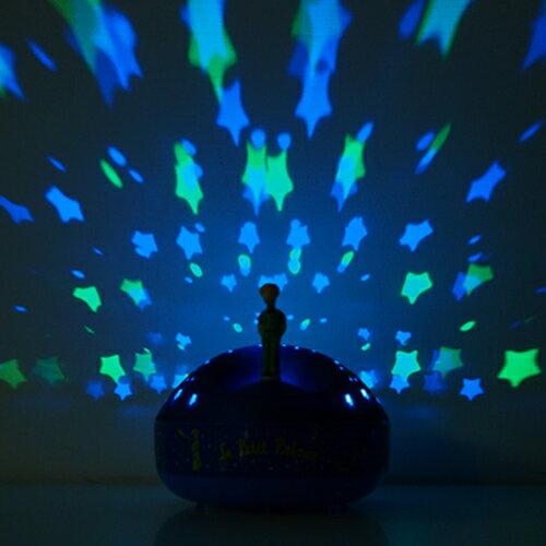 Lumitusi- 旋轉吧!小王子音樂星星投射夜燈 2