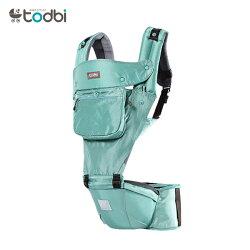 【麗嬰房】TODBI AIR MOTION 時尚氣囊款坐墊式背巾(薄荷綠)