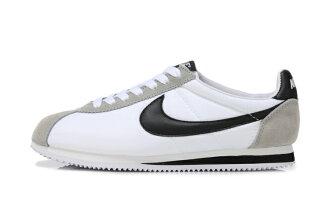 Nike 阿甘跑步鞋 經典款 白黑 男女鞋