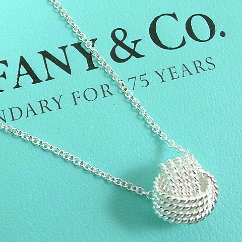 【奢華時尚】TIFFANY 新款-TWIST 旋鈕925純銀墜飾項鍊 #11805