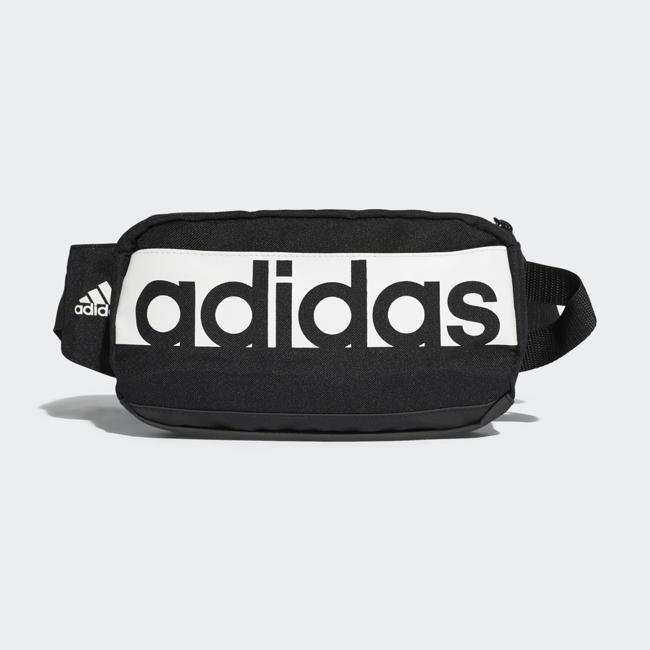 【毒】adidas 腰包 斜背包 側背包 胸包 黑色 S99983