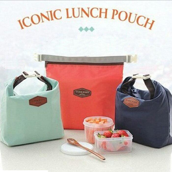 糖衣子輕鬆購【DZ0077】韓版iconic創意保溫便當袋野餐包收納包冰包保溫袋