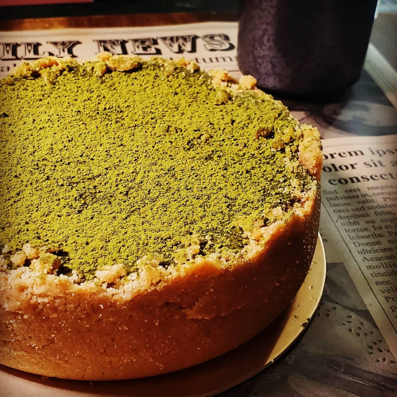 [糕中生2年2班] 宇治抹茶重乳酪  6吋  抹茶  甜點  下午茶 點心 蛋糕 母親節