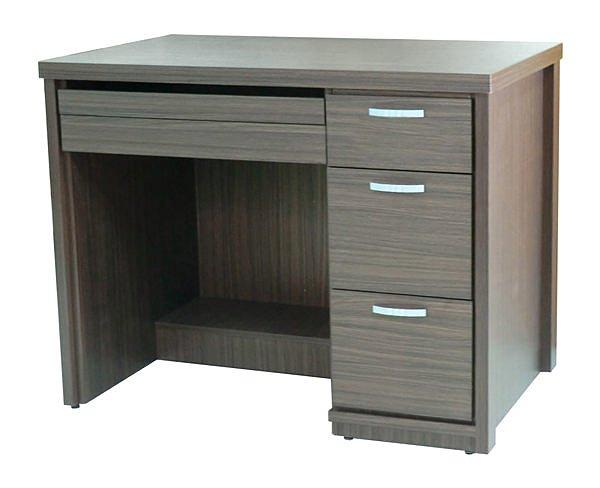 【尚品傢俱】793-01 優利多胡桃色3.2尺電腦桌/辦公桌/書桌