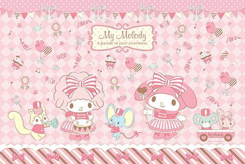 P2拼圖網:MyMelody甜蜜遊行拼圖1000片-093