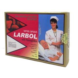 LARBOL 朗保血紅素複方膠囊 100粒/盒◆德瑞健康家◆
