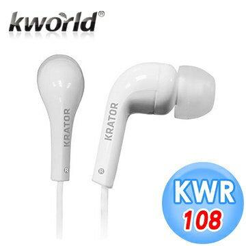 【迪特軍3C】KRATOR 晟碩 時尚音樂入耳式耳機 KWR108