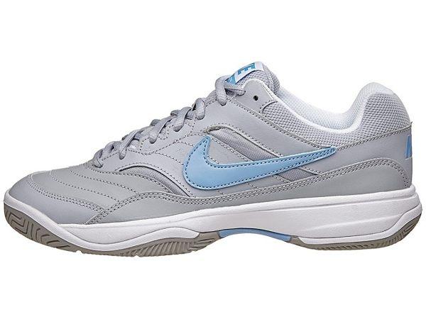 《限時特價↘7折免運》Nike Court Lite Grey/Blue 女鞋 網球鞋 【運動世界】 845048-041【SS感恩加碼 | 單筆滿1000元結帳輸入序號『SSthanks100』現折..