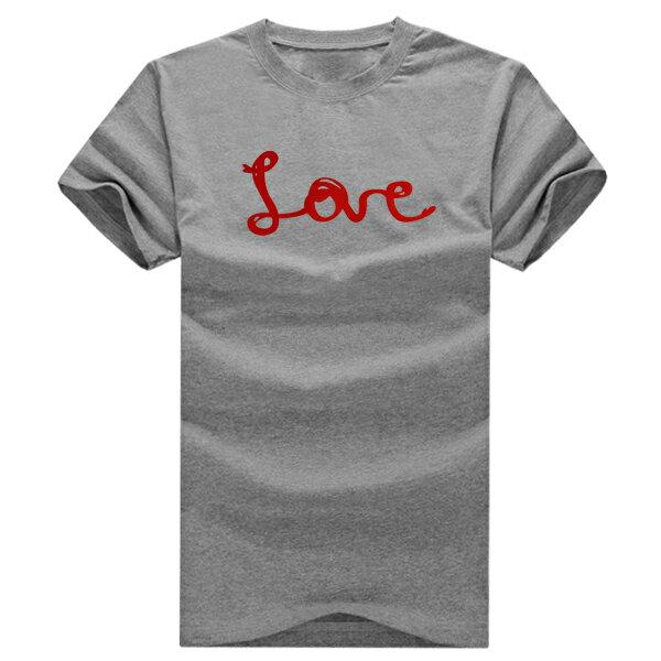 T恤 親子裝 全家福  可客製化 MIT台灣製純棉短T 班服◆快速出貨◆獨家配對情侶裝.紅線LOVE愛心【YC168】可單買.艾咪E舖 1