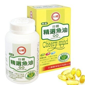 【台糖精選魚油膠囊】1瓶100粒 深海魚類萃取 多元不飽和脂肪酸 青邁
