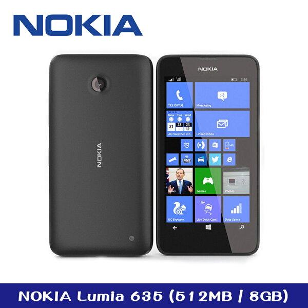 展示品※NokiaLumia635WindowsPhone作業系統四核心處理器黑色