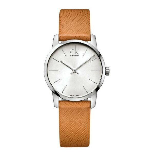 CK CITY(K2G23120)城市經典簡約腕錶/白面31mm