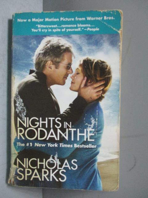 ~書寶 書T1/原文小說_JRZ~Nights in Rodanthe_SPARKS NI