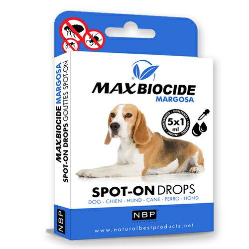 《西班牙NBP》新型苦楝精油犬用滴劑(5劑入)避免蟲蚤/ 天然成分 / 安全無毒