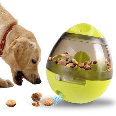 美琪寶貝不無聊(邊吃邊玩)不倒翁漏食球玩具趣味熱銷寵物用品