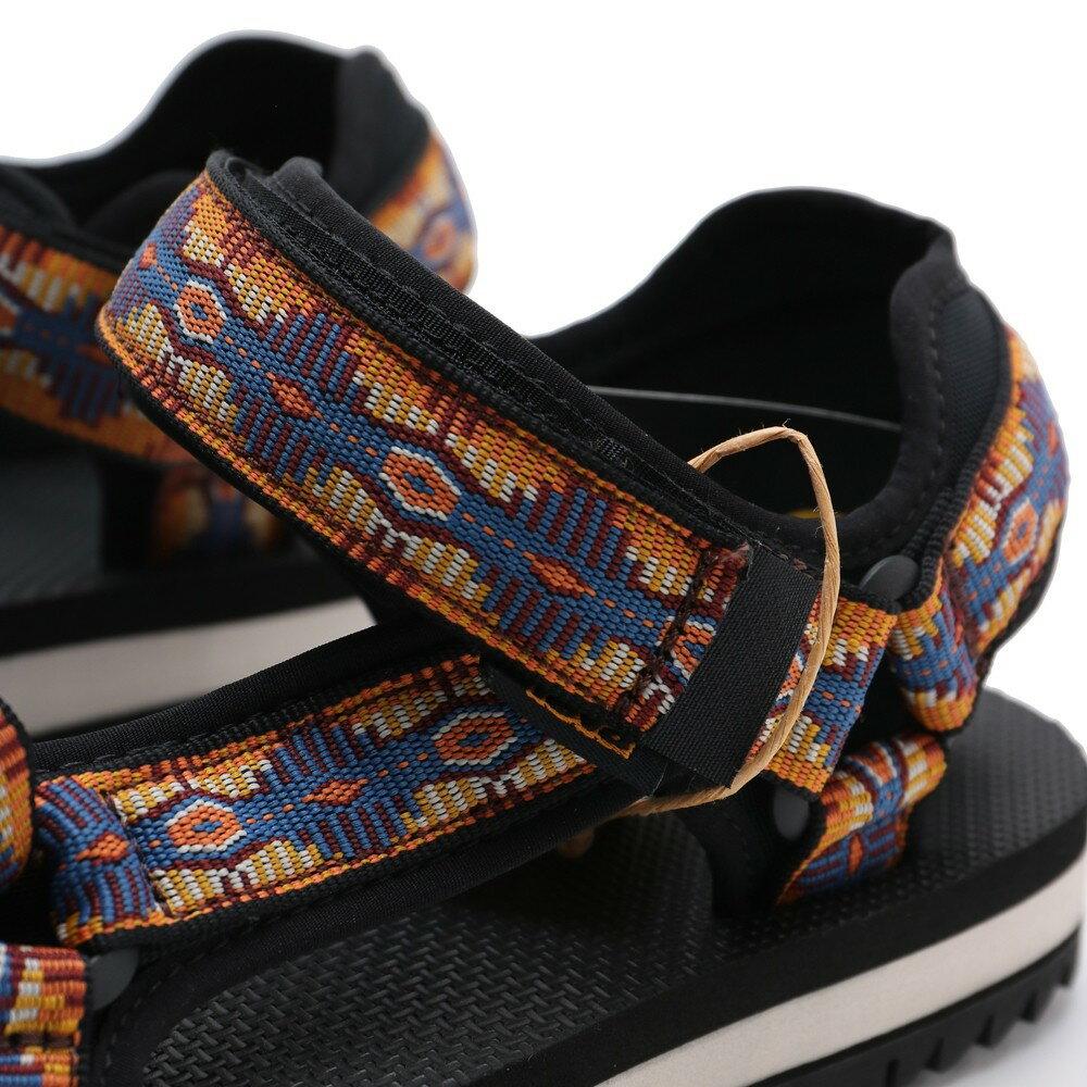 【領券滿$2000最高折$250】TEVA CTC 黑 黃紫 峽谷圖騰 黏帶 可調 涼鞋 女 (布魯克林) TV1107709CTCN