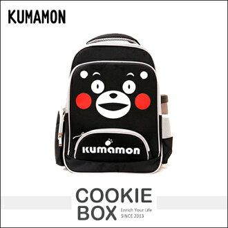 正版 熊本熊 KUMAMON 雙層 EVA 書包 後背包 護脊 置物 透氣 輕鬆 學生 兒童 上學 *餅乾盒子*