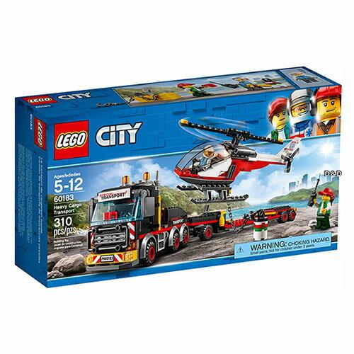 樂高LEGO 60183  CITY 城市系列 - 重貨運輸車 - 限時優惠好康折扣