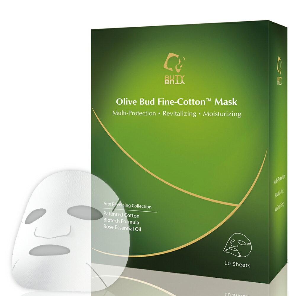 <br/><br/>  凍齡系列-橄欖芽苞多元全效Fine-Cotton?面膜10片裝(28ml/片)<br/><br/>