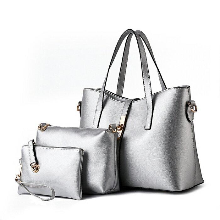 歐美時尚經典簡約氣質包中包三件組 #KLY8884 3