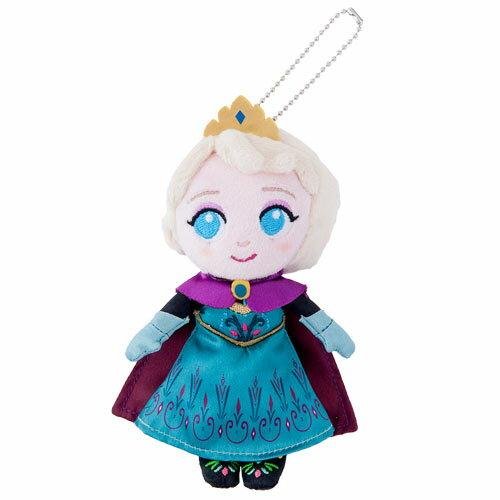 X射線【C917060】日本東京迪士尼代購-冰雪奇緣娃娃吊飾-艾莎,包包掛飾/鑰匙圈/迪士尼/新年