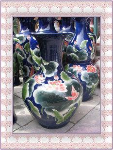陶瓷瓷器大花瓶工藝瓶擺件藝術瓶禮品瓷賓館酒店瓷蘋果瓶