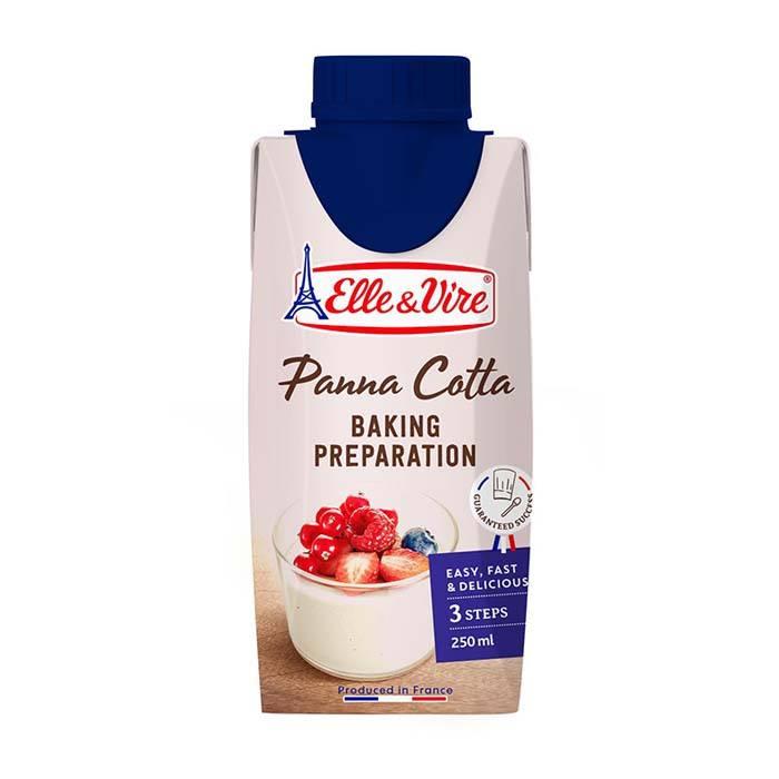法國愛樂薇Elle&Vire 法式奶酪風味鮮奶油 250ml/罐*冷藏宅配1699免運