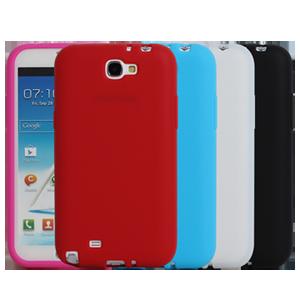 Ultimate- Samsung Note2(N7100) 多彩軟軟果凍軟質三星手機外殼防摔果凍套後背蓋 保護殼 手機殼