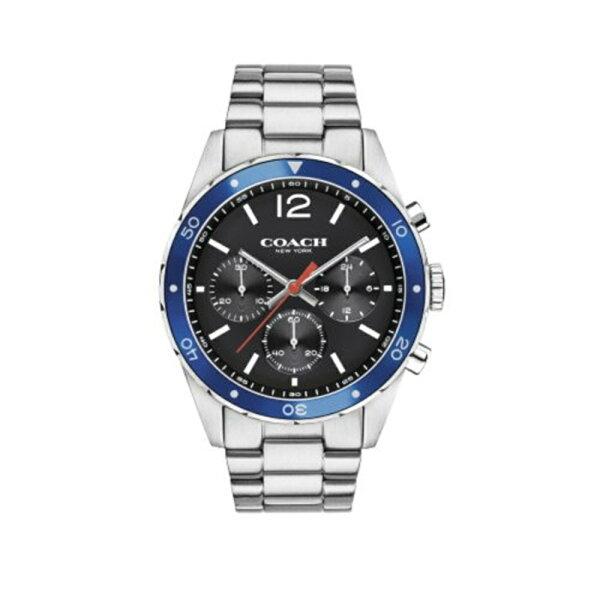 COACH經典計時紳仕腕錶黑44mm14602084