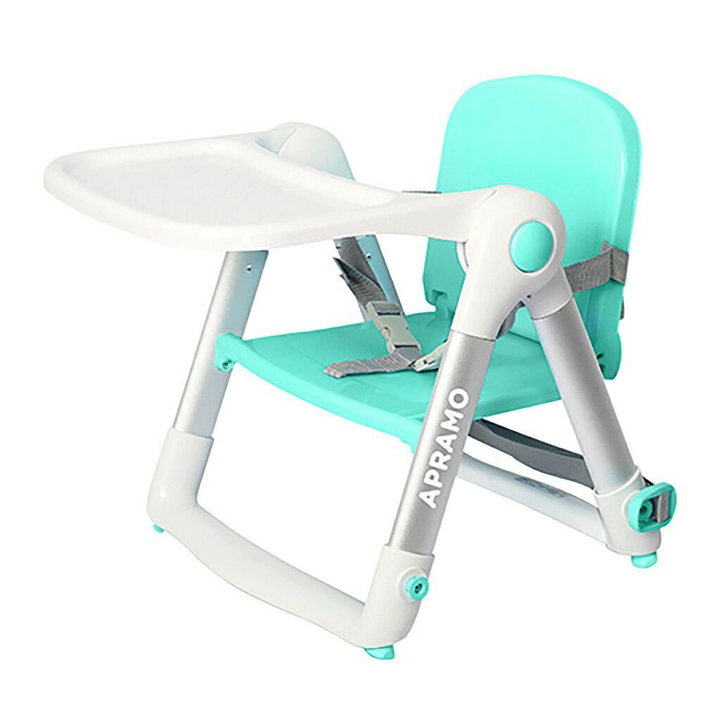 【限量送單杯架(1入) / 領券折200】英國 Apramo QTI Flippa 摺疊式兒童餐椅 附簡易提袋+Cushion坐墊  / 共六色 1