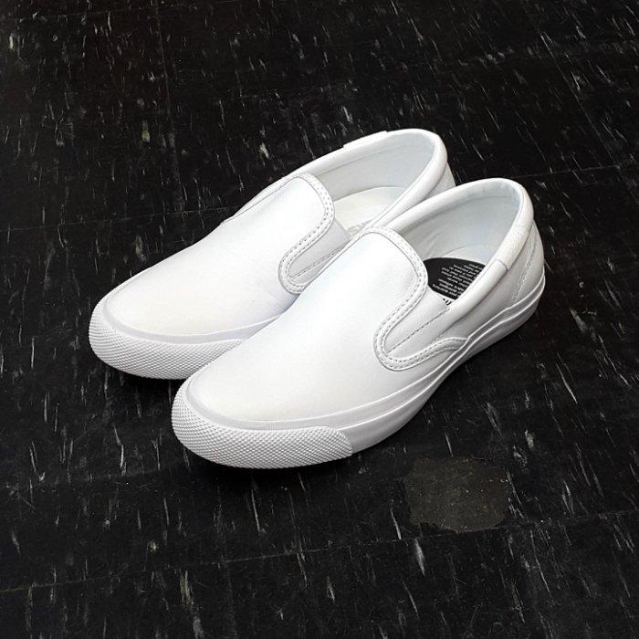 Converse All Star Core Slip 白色 全白 懶人鞋 小白鞋 皮革 荔枝皮 556407C