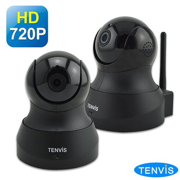 TENVISTH-661HD無線網路攝影機(黑色兩入組)5217SHOPPING