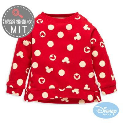 Disney Baby斑駁圓點米奇長袖上衣