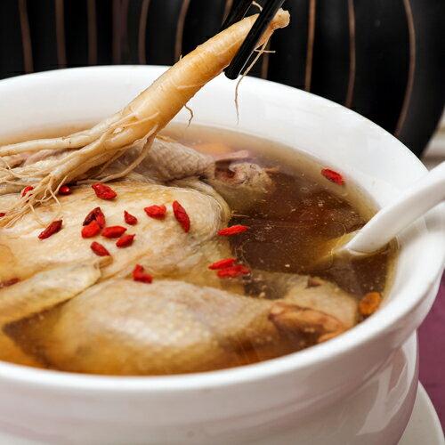 道地港式煲湯─人蔘燉雞湯