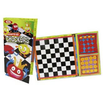【美國Ideal】8-32505TL 隨身磁性桌遊-西洋跳棋  / 組 - 限時優惠好康折扣