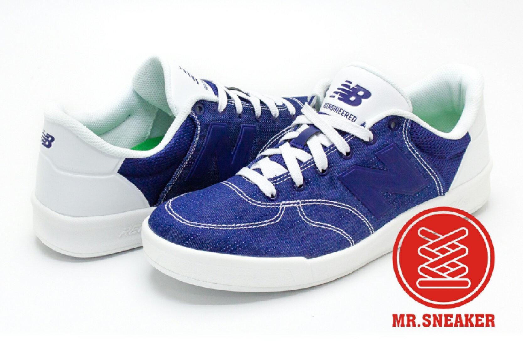 ☆Mr.Sneaker☆NEW BALANCE CRT300RK 韓系 NB帆布鞋 現貨 台灣公司正品 丹寧