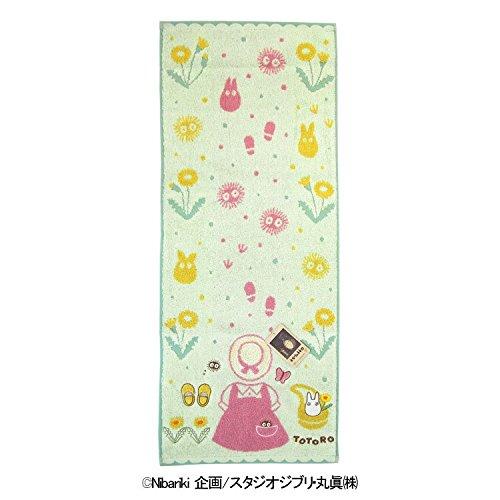 X射線【C572926】龍貓Totoro長毛巾34x80cm(妹妹衣服),浴巾/毛巾/盥洗小物/龍貓/宮崎駿