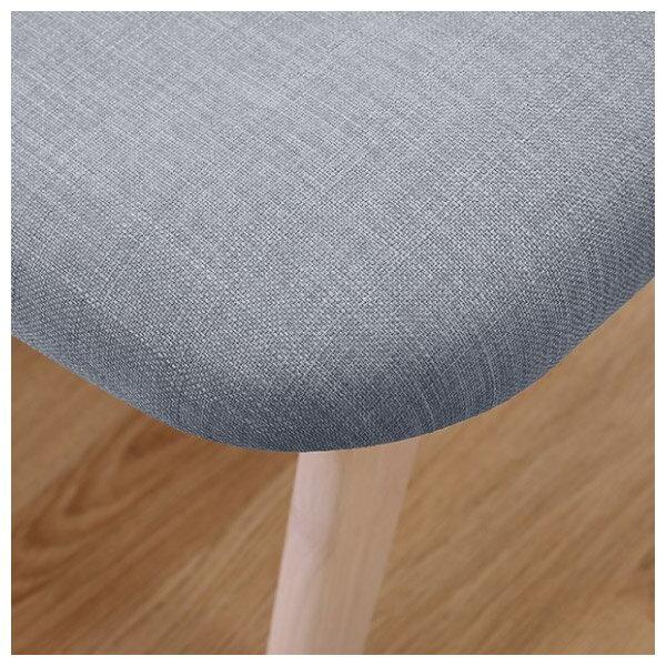 ◎(OUTLET)實木餐椅 RELAX WW / GY 橡膠木 福利品 NITORI宜得利家居 4