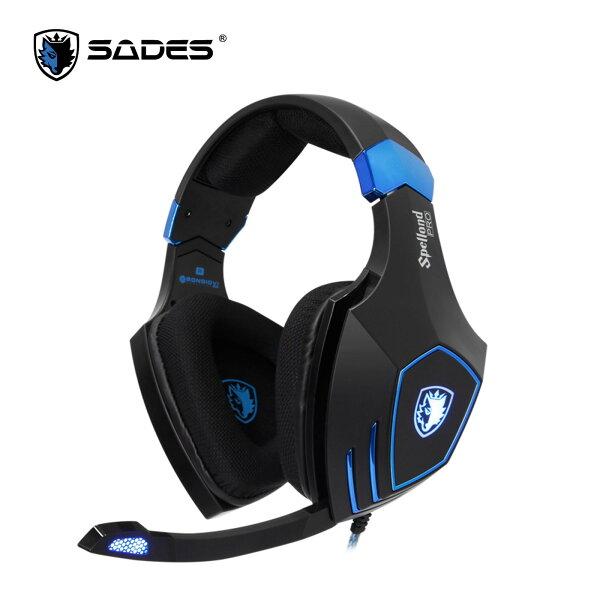 SADES賽德斯狼鑽PRO電競耳機耳機麥克風終極級4DSA-910ProLOL7.1聲道【迪特軍】