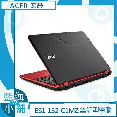 ACER 宏碁ES1-132-C1MZ 紅11.6吋 筆記型電腦 (Celeron N3350/32GB/W10)
