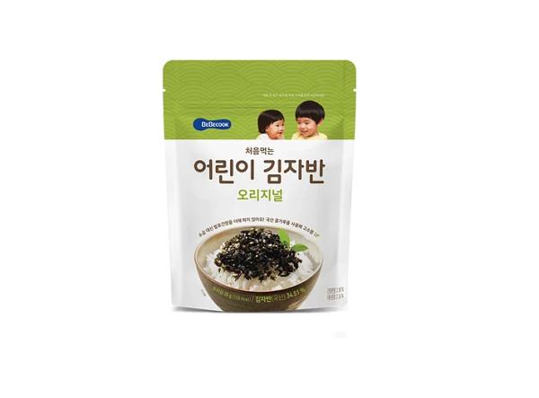 【BEBECOOK】寶膳智慧媽媽嬰幼兒初食原味海苔酥(25g)拌飯海苔香鬆調味品