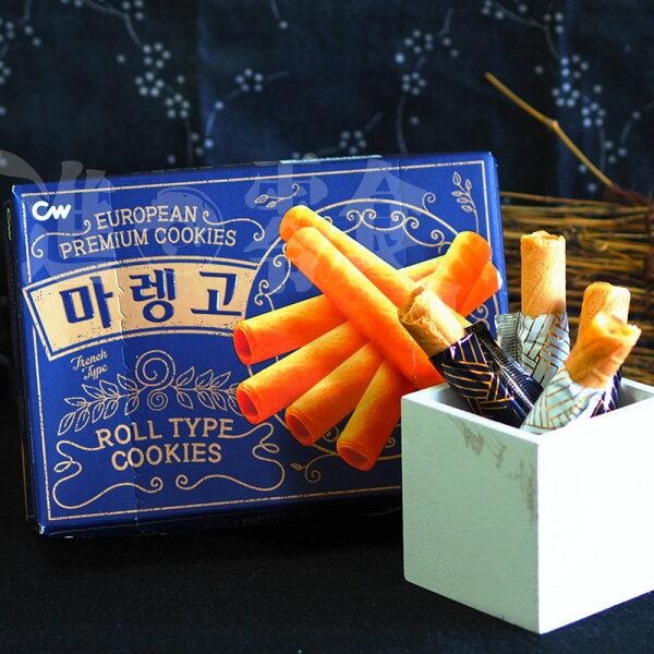 麻吉小舖:韓國【CW】法式奶油雪茄蛋捲