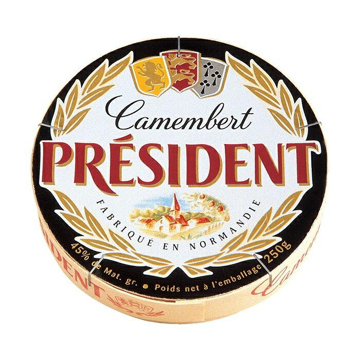 法國總統牌卡門貝爾乳酪 Camembert 250g/塊